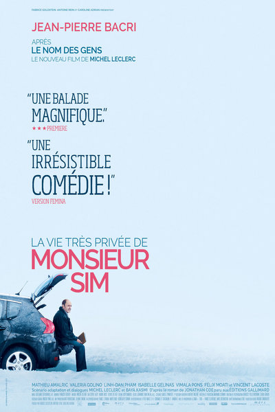 Victor Belmondo et Daniel Di Grazia dans La Vie Très Privée de Monsieur Sim