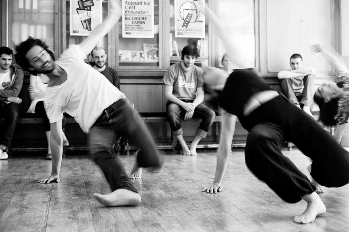 Répétition chorégraphiée au Cours Peyran-Lacroix