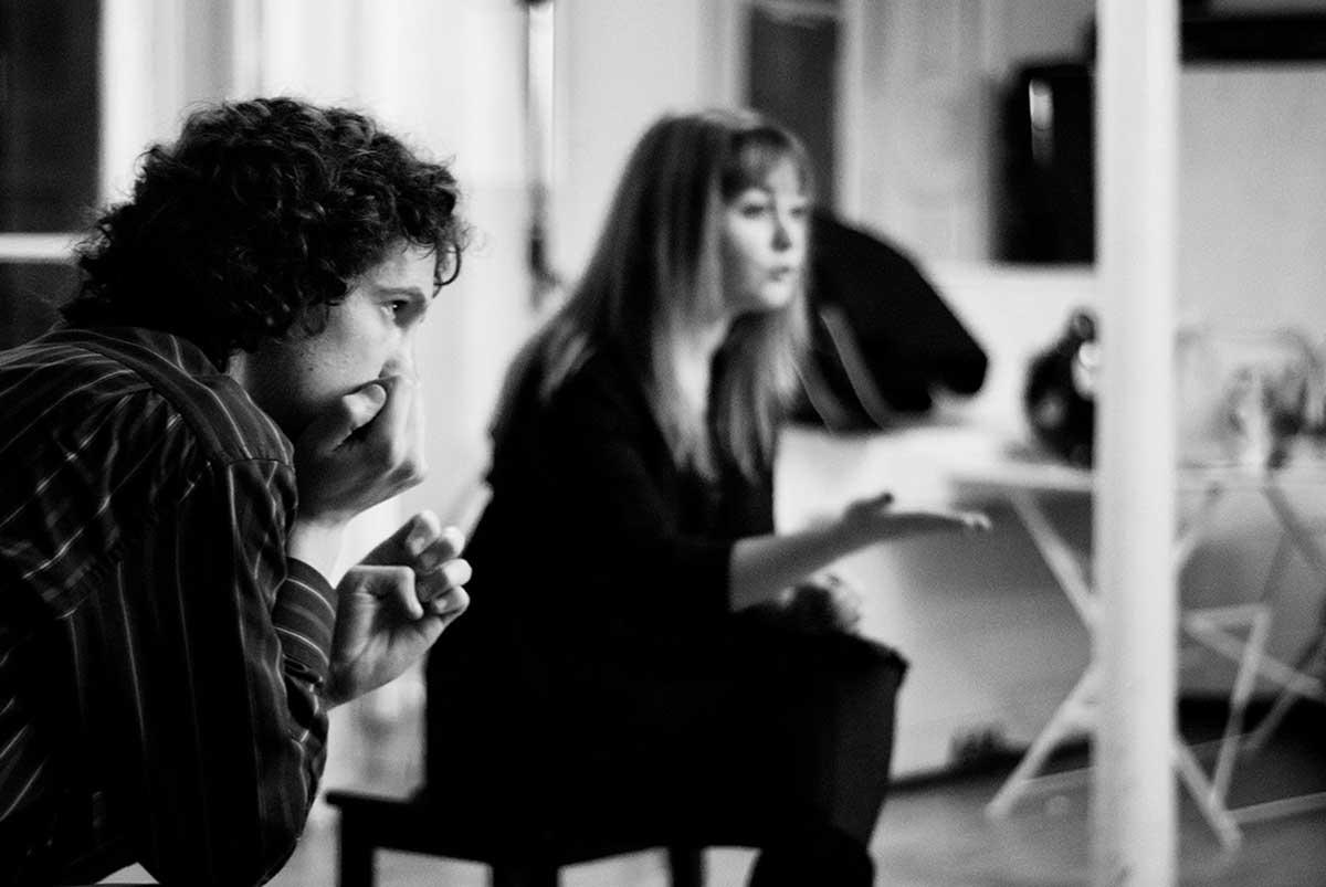 Session Meisner en binôme au Cours Peyran-Lacroix