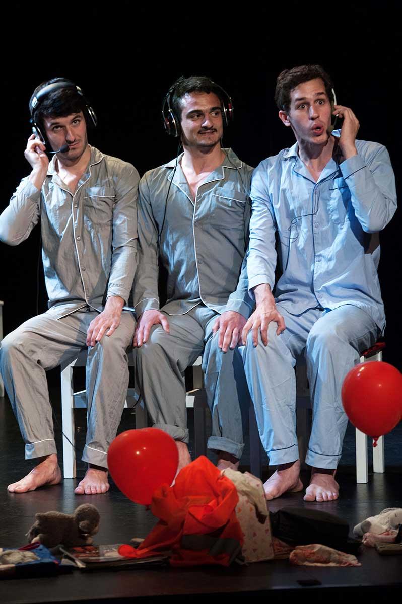 Les Couteaux dans le Dos avec Victor Belmondo, présenté par le Cours Peyran-Lacroix