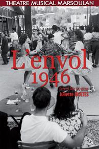 Justine Remy dans L'Envol 1946