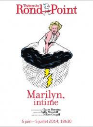 Sally Micaleff met en scène Marilyn, Intime.