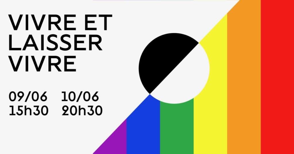 Affiche du spectacle Vivre et laisser vivre du Cours Peyran Lacroix au Théätre La Pépinière les 9 et 10 juin 2019