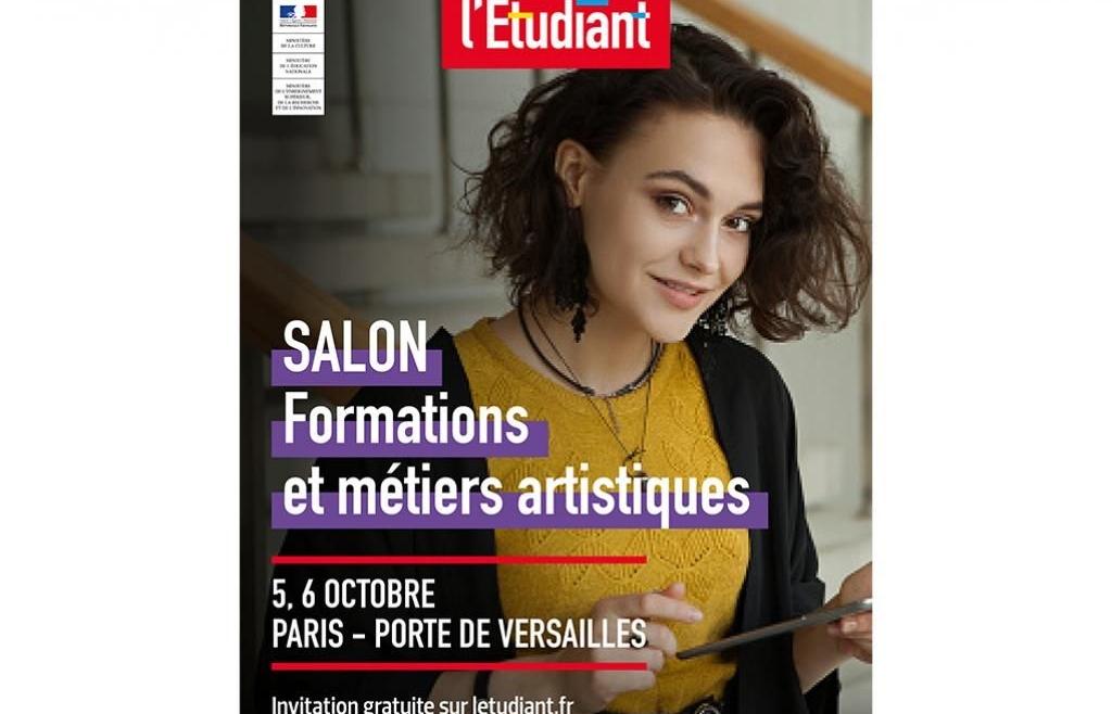 Salon de l'Etudiant – Formations Artistiques- du 5 au 6 octobre 2019