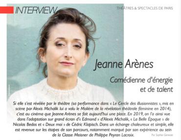 Théâtres & Spectacles de Paris : Jeanne Arènes