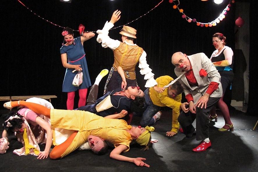 Atelier d'Art du Clown animé par Mylène Lormier à la Théâtrerie